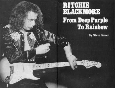 Ричи Блэкмор назвал имена новых музыкантов Rainbow